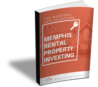 "Book cover image of ""The Investor's Path to Success: Memphis Rental Property Investing. CrestCore provides real estate and property management services in the Memphis Area."